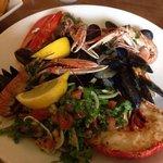 Fresh Lobster and Shellfish Platter