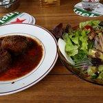 Bife Bali e Salada mista