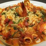 Seafood Cioppino.  Was delicious