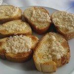 Garlic bread smul smul