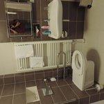 Behinderten WC & Waschpäcken