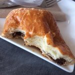 Love the chocolate croissant