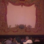 Pretty stage curtain