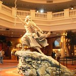 Beautiful statue in theatre of Moses