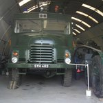 a 4 wheel drive green goddess built for coldwar in mid 50's