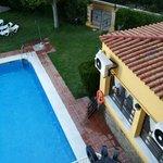 Entrada piscina greco (no la cerraban nunca)