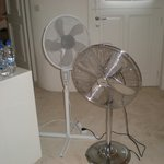 2 of the 3 fans needed to keep us cool