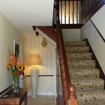 Entry Foyer, Stair to the rooms