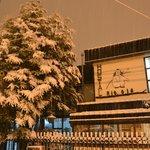 Hostal Rio Ona en invierno