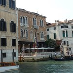 Hotel depuis le Grand Canal