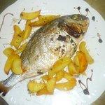 Orata Fish with Potatoes