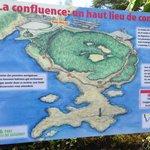 La carte du sentier de 1,3 km