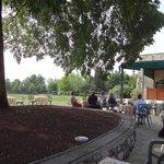 Terrasse zum Golfplatz