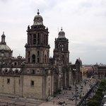 Catedral, en Zócalo