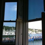 View of the harbor from 2 of our windows