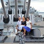 USS Wisconsin summer 2014