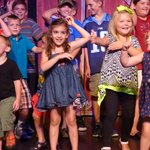 Kids dancing on the stage