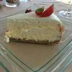 Cheesecake dessert at lunch - quite large!
