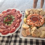 A couple of party platters