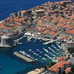 The view of old town Dubrovnik