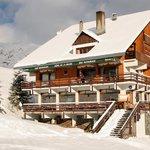 Hotel la balme vue du front de neige