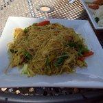 Noodles stir fired
