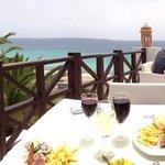 il pranzo con vista oceano