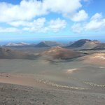 Stunning scenery at Timanfaya