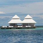 Il ristorante delle Water Villas