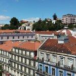 Toits de Lisbonne et facades