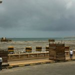 beach and indian ocean view - well construction site anyway.