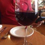 Glass of Pinot Noir ($12)