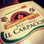 Cartone delle pizze....carino ☺