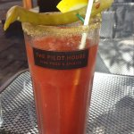 Bloody Caesar is a thing of beauty and very tasty.