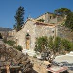 Церковь на территории острова
