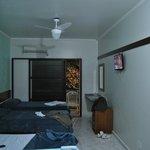 vista interna da suite