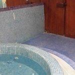 Whirepool und Sauna