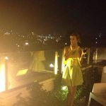 מרפסת השמש במלון..