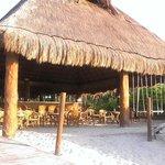 Beach Bar at Sunrise