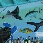 Art work in Bar