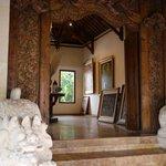 Love the carved doorway