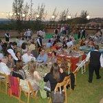 Cena Campestre en Vinisterra. Fiestas de la Vendimia, 2014.