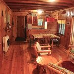 Rustic Cabin with updated interiors