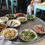 Meze to choose from