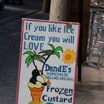 Sign outside shop