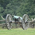 Cannon at Gettysburg