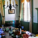 Vann House dining room