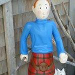 Tintin à l'Île Verte
