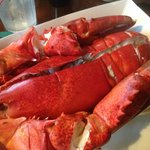 Delicious Steamed Lobster