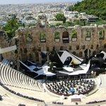anfiteatro desde la acropolis